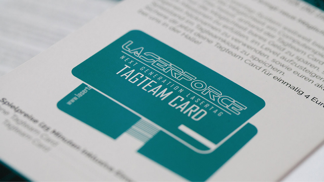 Teaser Referenz Laserforce Corporate Design